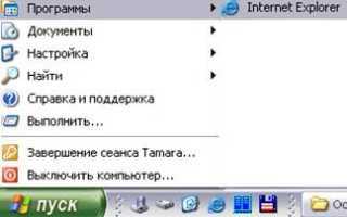 Название элементов окна браузера