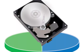Создать том на жестком диске