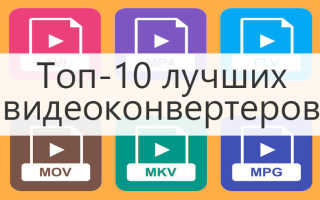 Конвертер видео без потери качества скачать бесплатно