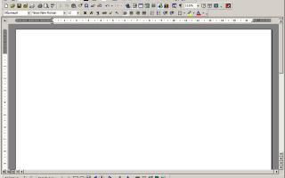 Структура окна текстового редактора word