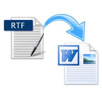 Файл rtf конвертировать в word