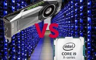 Мощный процессор или мощная видеокарта