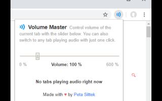 Низкая громкость в браузере