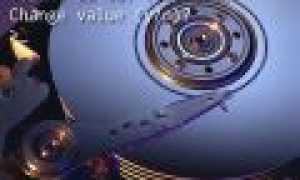 Как изменить volume id жесткого диска
