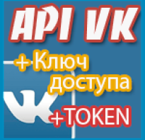 Api access key vk