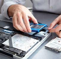 Как поставить жесткий диск на ноутбук