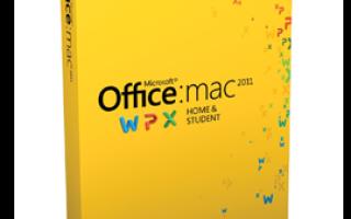 Office 2020 mac os скачать