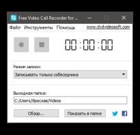 Запись скайп видео разговора