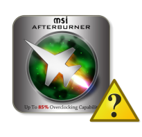 Msi afterburner не показывает данные видеокарты